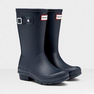 Hunter •• Original kids Wellington boots
